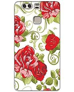 Webplaza Huawei P9 Plus Back Cover Designer Hard Case Printed Cover