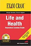 img - for Life and Health Insurance License Exam Cram by Educational Services, Bisys [Pearson IT Certification,2004] [Paperback] book / textbook / text book