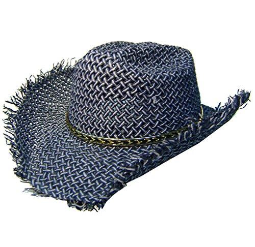 modestone-boys-straw-cappello-cowboy-with-fuzzy-straw-fringe-xs-blue-light-blue