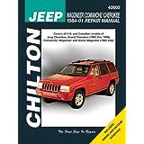 Jeep Wagoneer/Commanche/Cherokee 1984-2001 (Chilton's Total Car Care Repair Manuals) ~ Matthew E. Frederick