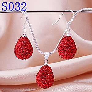 Superbmatch es032 sale 925 silver jewelry sets for Best selling jewelry on amazon