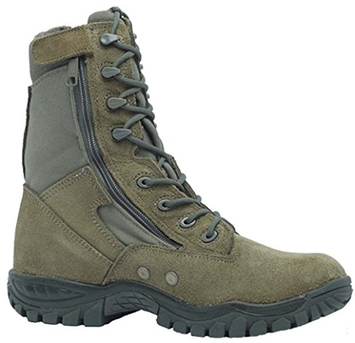 Belleville 612Z Men's Hot Weather Side-Zip Tactical Boot, Sage Green - 10.5R (Side Zip Sage Green compare prices)