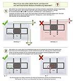 Ricoo-Wandhalterung-Schwenkbar-Neigbar-R23-Plasma-LCD-LED-Wandhalter-fr-Fernseher-mit-76-165cm-30-65-max-VESA-400x400-universell-passend-fuer-viele-TV-Hersteller-Wandabstand-nur-98-mm