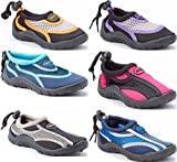 Sea Sox Children's Kids Water Shoes Aqua Socks Beach Pool Yoga Exercise Waterproof Durable Adjustable Toggle Unisex