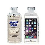 Peneric® Creative TPU Vodka Bottle Transparent Soft Rubber Gel Case Case Cover for Apple iPhone 6 Plus 5.5