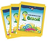 Official Panini FIFA World Cup 2014 Brazil (Brasil) Sticker Pack (10 x Sticker Pack)