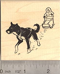 Sled Dog Craft http://www.amazon.com/RubberHedgehog-Sled-dog-Rubber-Stamp/dp/B004OM9722