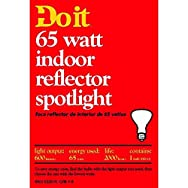 GE Private Label18390Do it Reflector Spotlight Bulb-65W BR30 REFLECTOR BULB