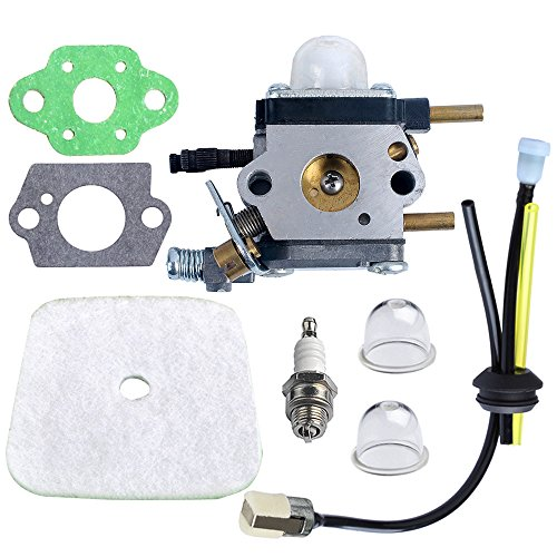 Find Discount HIPA C1U-K54A Carburetor with Air Filter Repower Kit for 2-Cycle Mantis 7222 7222E 722...