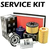 Ford Fiesta mk4,1.25,1.4,1.6 (Zetec Eng) Oil,Fuel,Air Filter & Plugs Service Kit