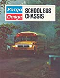 1971 Dodge Fargo School Bus Brochure Canada