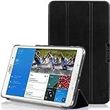 i-Blason Galaxy Tab Pro 8.4 Case - i-Folio Slim Hard Shell Stand Case Cover for SM-T320/325 [Life Time Warranty] (Black)
