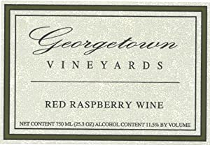 NV Georgetown Vineyards Red Raspberry Wine 750 mL