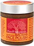 Planet Botanicals Baobab Micro Face Polish with Baobab and Cape Rose, 4 Fluid Ounce