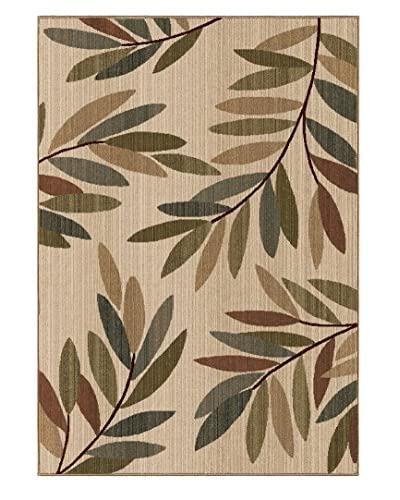 Carolina Weavers Tangled Leaves Rug