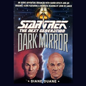 Star Trek, The Next Generation: The Dark Mirror (Adapted) Audiobook