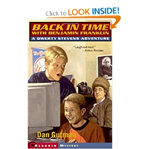 Book cover of Back in Time with Benjamin Franklin