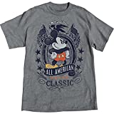 Disney Mickey Mouse Men's All American Mickey Plus Size T Shirt