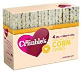 Mrs Crimbles Corn Cakes 140 g (Pack of 12)