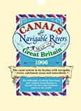 Canals and Navigable Rivers Map of Great Britain 1906 (Old House)