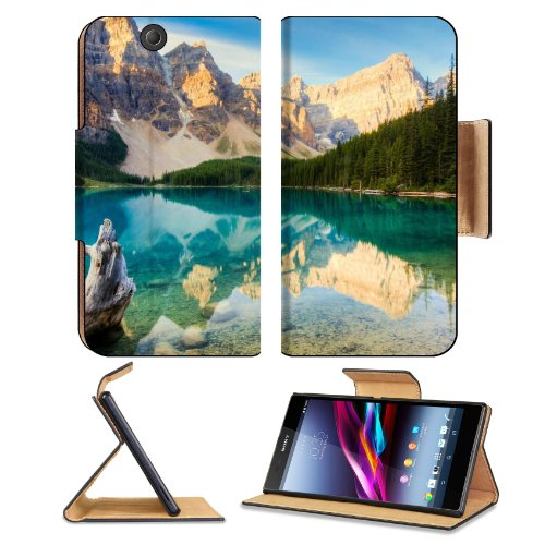 Nature Corner Canada Landscape Scenery Sony Xperia Z Ultra Flip Case Stand Magnetic Cover Open Ports Customized Made To Order Support Ready Premium Deluxe Pu Leather 7 1/4 Inch (185Mm) X 3 15/16 Inch (100Mm) X 9/16 Inch (14Mm) Msd Sony Xperia Z Ultra Cove front-1038693