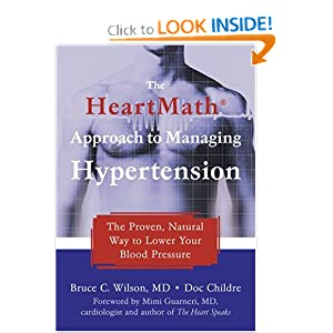 Click to buy Hypertension Symptoms: The Heartmath Approach to Managing Hypertension from Amazon!