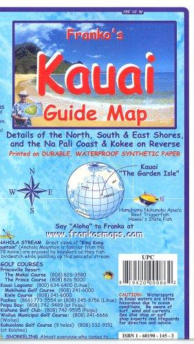 Franko's Kauai Guide Map