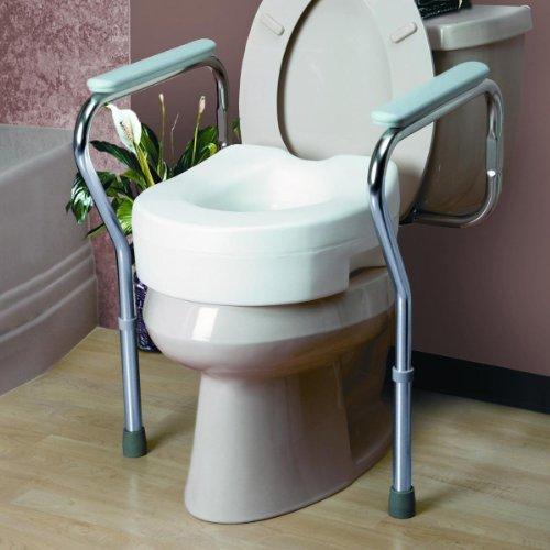 Invacare Adjustable Toilet Safety Frame Qty 2
