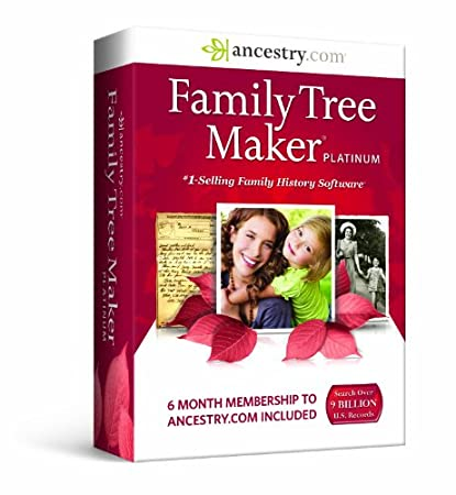 Family Tree Maker, Platinum