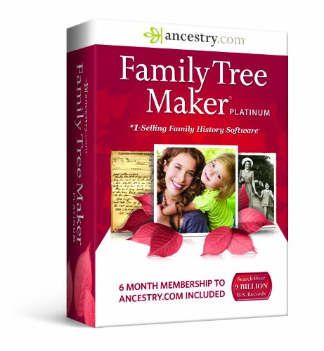 Family Tree Maker, Platinum (Family History Software compare prices)