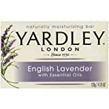 Yardley Bar Soap - English Lavender with Essential Oils , 4.25 oz Bar (Pack of 3)