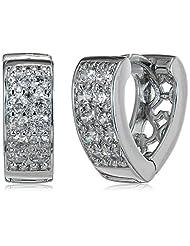 Sia Art Jewelry Clip-On Earrings For Women (Silver) (AZ3037)