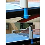KLOUD City®Portable Retractable Table Tennis Net Rack/ Replacement Ping Pong Accessory (Grey)