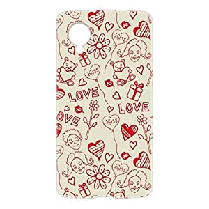 a AND b Designer Printed Mobile Back Cover / Back Case For LG Google Nexus 5 (NEXUS_5_3D_896)
