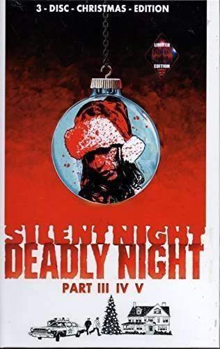 Silent Night Deadly Night Parts 3, 4 & 5 - 3 Disc Christmas Edition - Limited to Just 66 Pieces -