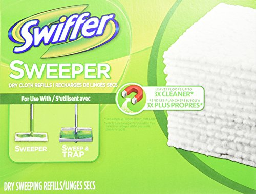 Swiffer Swiffer Sweeper Dry Cloth Refill, 80 Count (Swiffer Sweeper Dry compare prices)