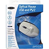 Belkin 2 Button Optical Mouse with Scroll Wheel, USB and PS/2, White