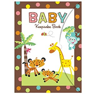 fisher price baby shower keepsake book party supplies