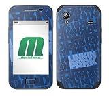 MusicSkins Skin de protection pour Samsung Galaxy Ace (GT-S5830) Linkin Park Block Motif Pattern (Blue)