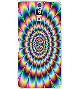 SONY XPERIA C5 ILLUSSION Back Cover by PRINTSWAG