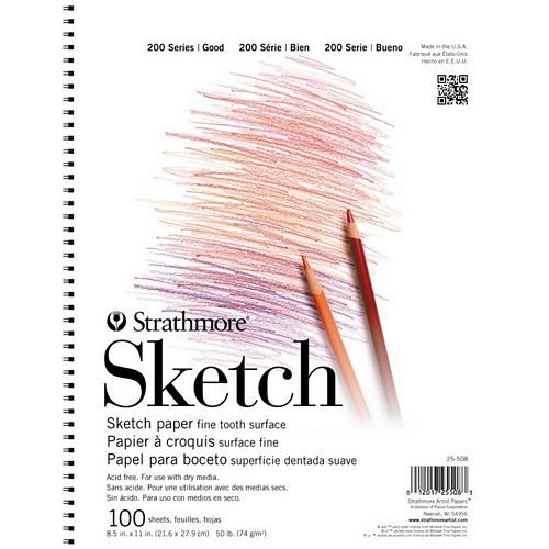 Strathmore ST25-518 200 Series 18 x 24 Wire Bound Sketch Pad