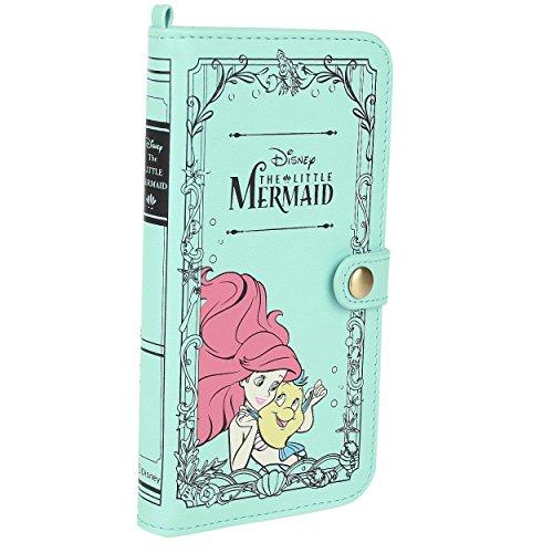 """Custodia a libro per IPhone 6 (4,7""""), Principesse Disney, motivo: personaggi de """"La Sirenetta"""""""