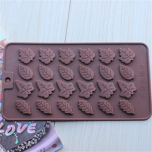 Ayutthaya shop Christmas cards / Rose Leaves silicone mold / DIY instruments chocolate / cookies mold / mold cake fondant. (Charlie Brown Cake Pan compare prices)