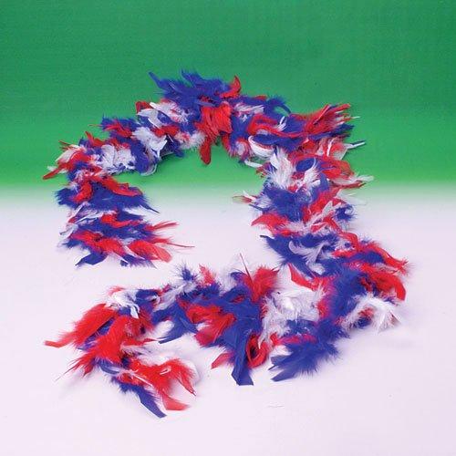 Patriotic Feather Boa - 1