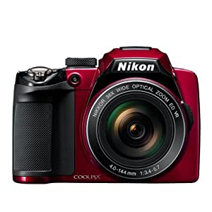 Nikon COOLPIX P500 (Red)