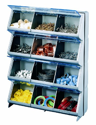 Images for Stack-On CB-12 Clear View 12-Bin Organizer