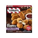 TGI Fridays Poppers Cream Cheese Stuffed Jalapeno, 15 Ounce -- 6 per case.
