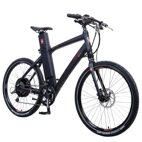 Currie Tech Hybrid Electric Bike - eFlow Bicycle, E3 Nitro, M, Black