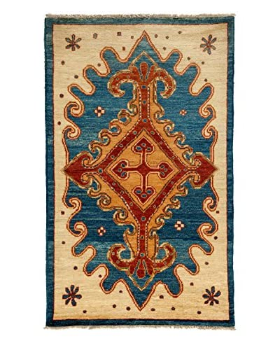 Solo Rugs One-of-a-Kind Tribal Rug, Royal, 5' x 8' 2""