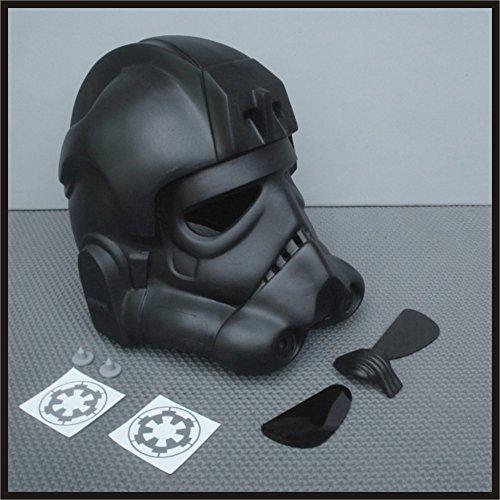 TIE Fighter Pilot Helmet Prop Kit for Star Wars Collectors